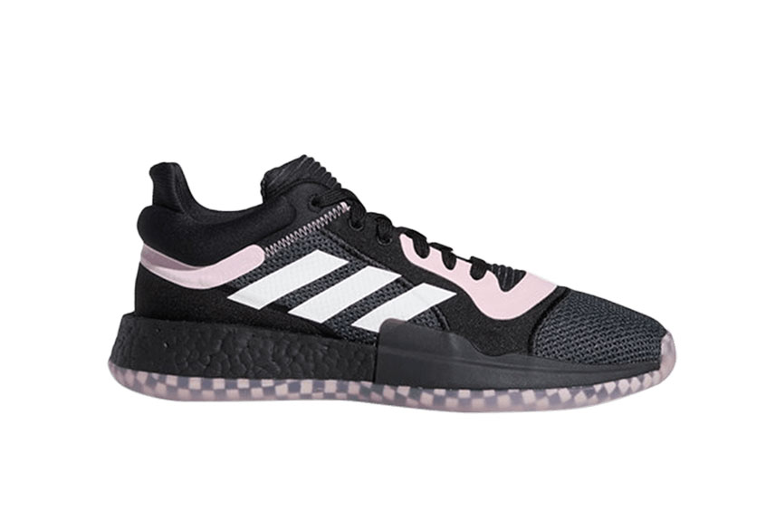 adidas Marquee Boost Low Black Pink ee6858