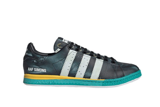 adidas Raf Simons Samba Stan Smith Black ee7954