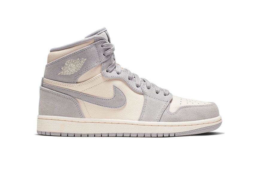 Jordan 1 High Premium Ivory Womens ah7389-101