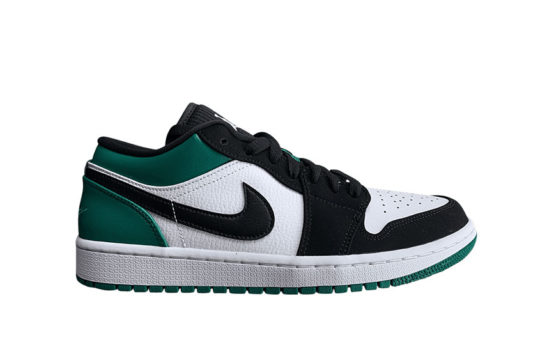 Jordan 1 Low Black Mystic Green 553558-113