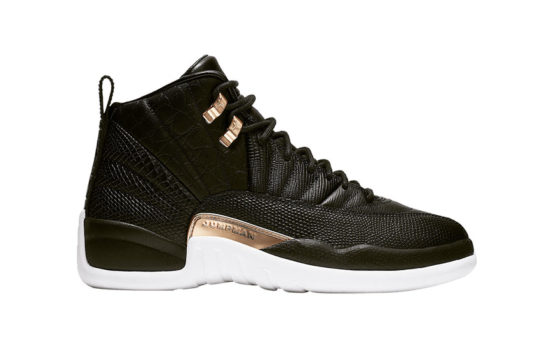 Air Jordan 12 Snakeskin Black Gold ao6068-007