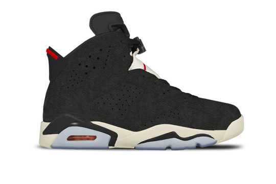 Air Jordan 6 Black Washed Denim ct5350-401