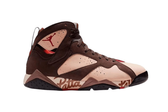 Patta x Air Jordan 7 Mahogany at3375-200