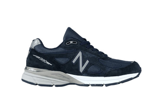 New Balance  Navy Silver m990nv5