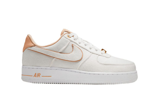 Nike Air Force 1 07 Lux White Beige Womens 898889-102