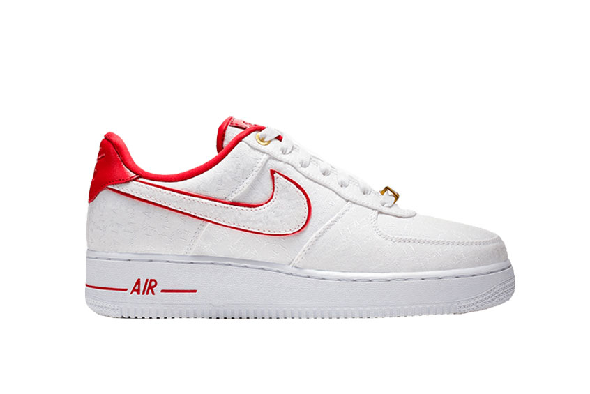 6fdfa7b55 How to buy the Nike Air Force 1 07 Lux White Red Womens ? Unknown. 898889- 101