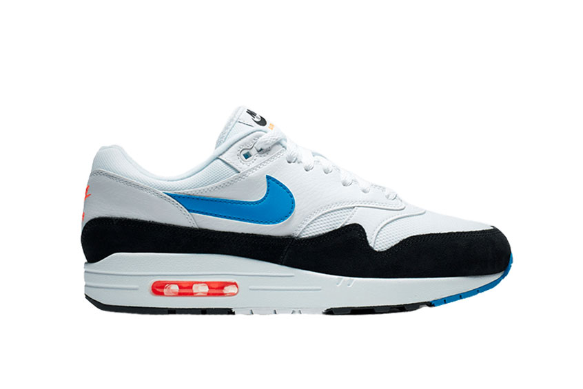 check-out 4ddbf 12a71 Nike Air Max 1 White Blue Orange : Release date, Price & Info