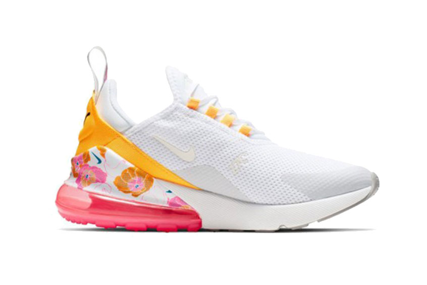 Nike Air Max 270 SE Floral White : Release date, Price & Info