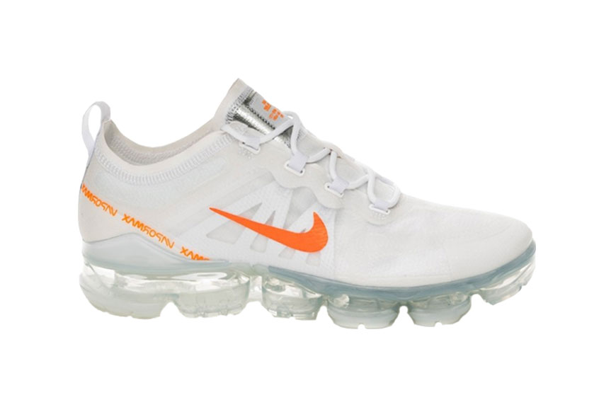 ac223d9665 Nike Air VaporMax 2019 White Orange : Release date, Price & Info