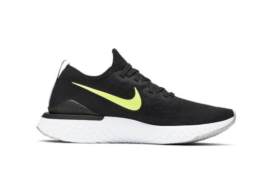 Nike Epic React Flyknit 2 Black Volt ci6401-001
