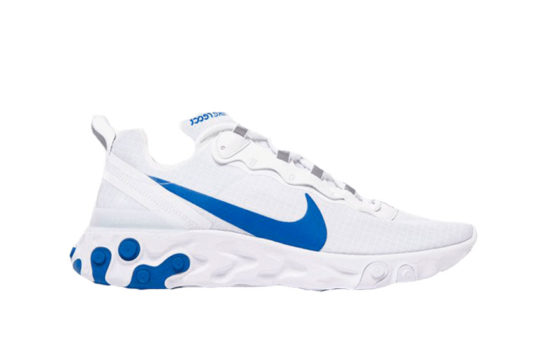 Nike React Element 55 SE SU19 White Blue bq6167-100