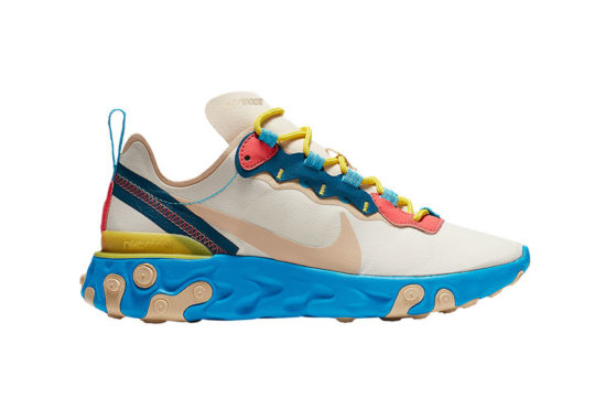 Nike WMNS React Element 55 Blue Fury bq2728-201