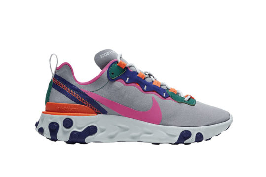 Nike WMNS React Element 55 Hyper Crimson bq2728-006