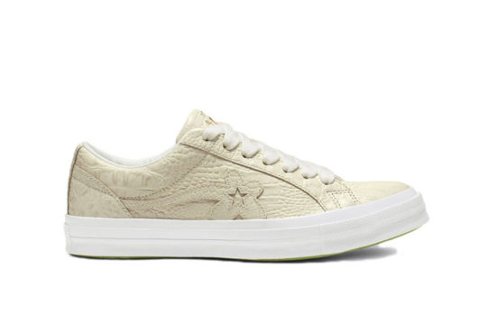 Converse One Star Ox x Golf Le Fleur Faux Skin Grey 165526c