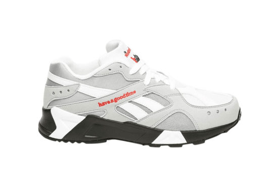 Have A Good Time x Reebok Aztrek Grey dv6436
