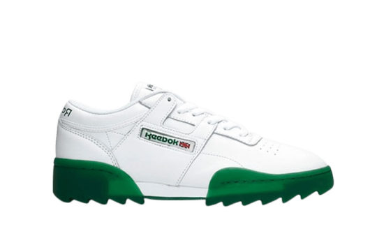 Reebok Workout Ripple OG White Green dv6958