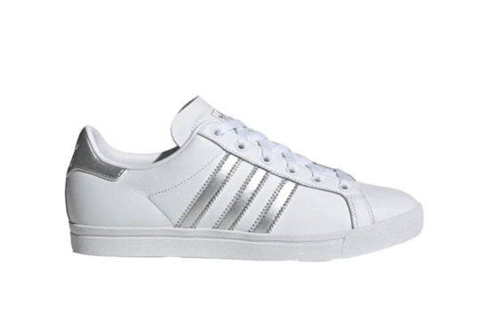 adidas Coast Star White Silver ee6521