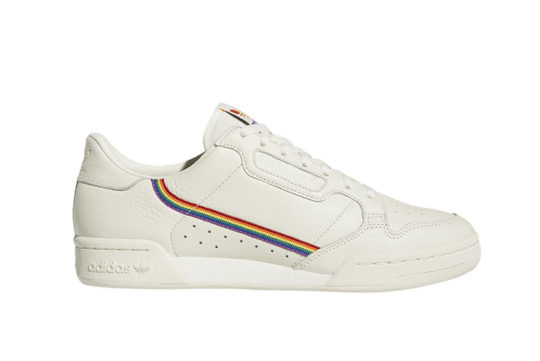 adidas Continental 80 Pride White ef2318