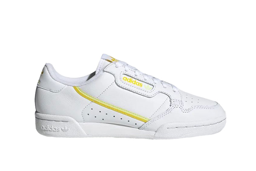 adidas Continental 80 White Orange ee5561