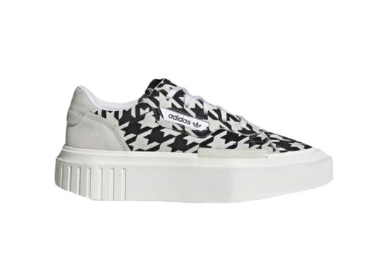 adidas Hypersleek Black White Houndstooth g54058