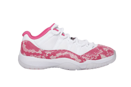 Air Jordan 11 Low Pink Snakeskin ah7860-106