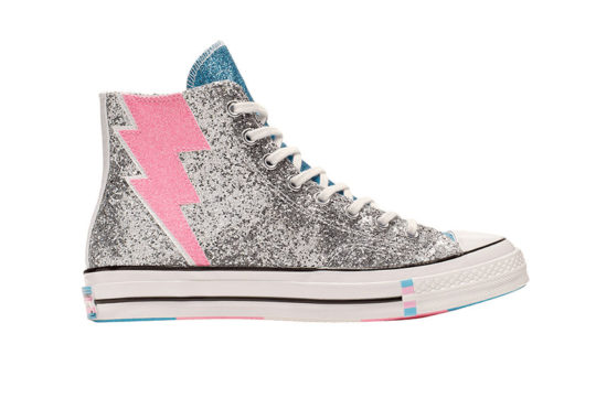 Converse 70 High Top Pride Silver 165723c