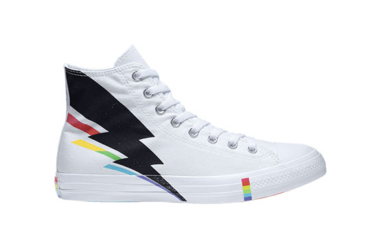 Converse All Star High Top Pride White 165715c