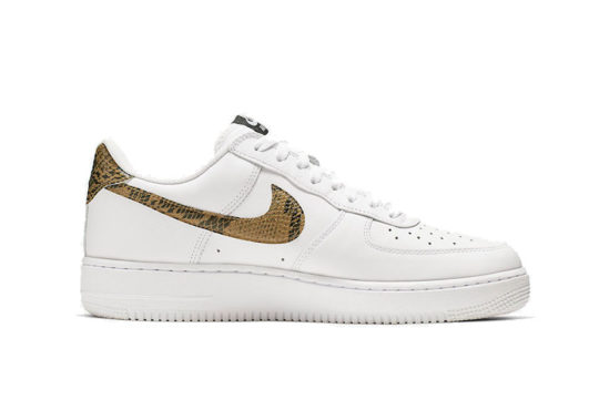 Nike Air Force 1 Low Ivory Snake ao1635-100
