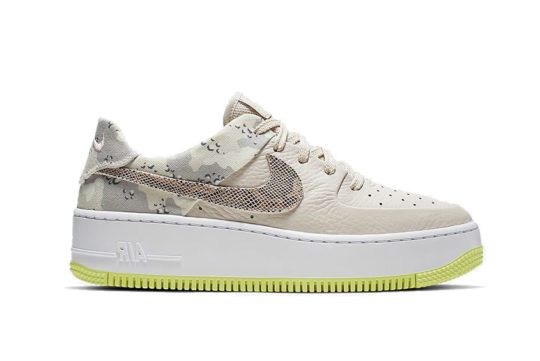 Nike Air Force 1 Sage Low Premium Camo Orewood ci2673-101