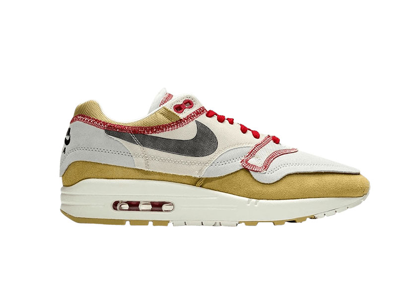 Nike Air Max 1 Inside Out Club Gold : Release date, Price & Info