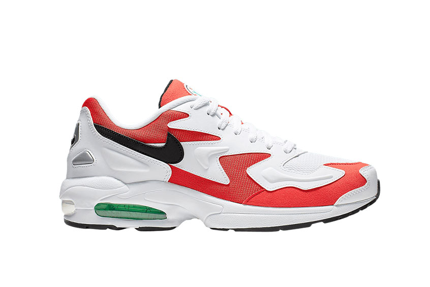 Nike Air Max 2 Light Red White : Release date, Price & Info