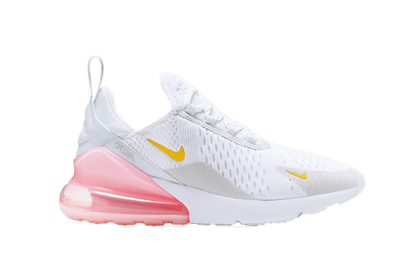 size 40 c138f ff6ce Nike Air Max 270 White Pink : Release date, Preis & Infos