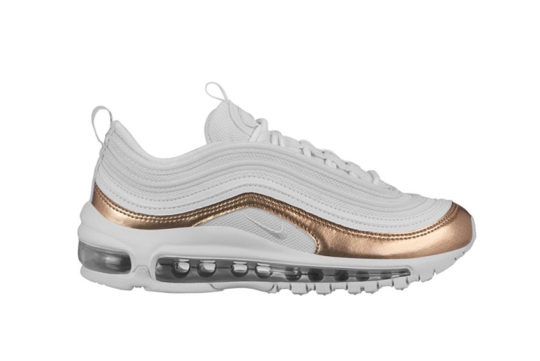Nike Air Max 97 GS White Blush Gold bv0049-100