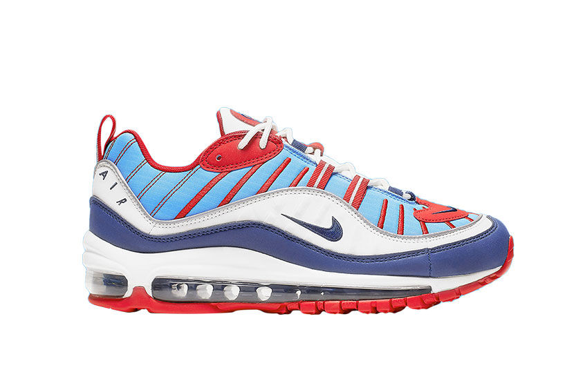 famous brand superior quality cost charm Nike Womens Air Max 98 Summit White Red : Release date, Price & Info