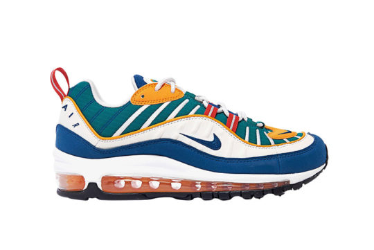 Nike Air Max 98 Green Multi ah6799-601
