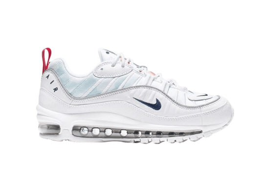 Nike Air Max 98 Premium White Navy ci9105-100
