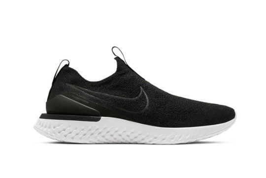Nike Epic React Phantom Flyknit Black White bv0417-001