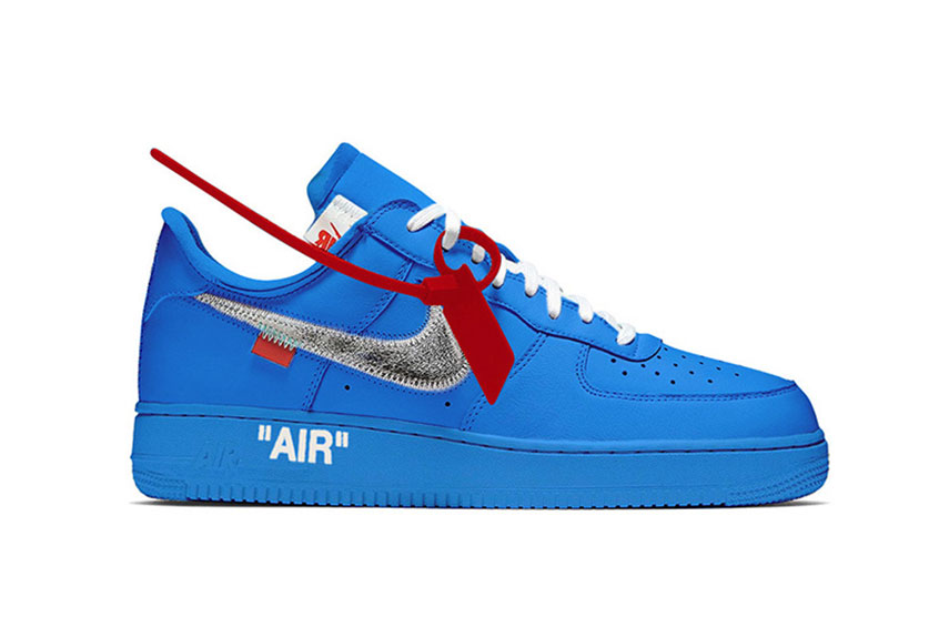 off white nike air force 1 release