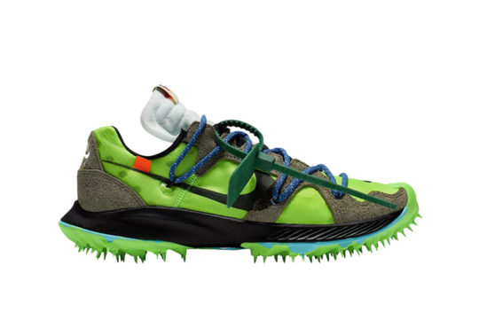 Off-White x Nike Zoom Terra Kiger 5 Green cd8179-300