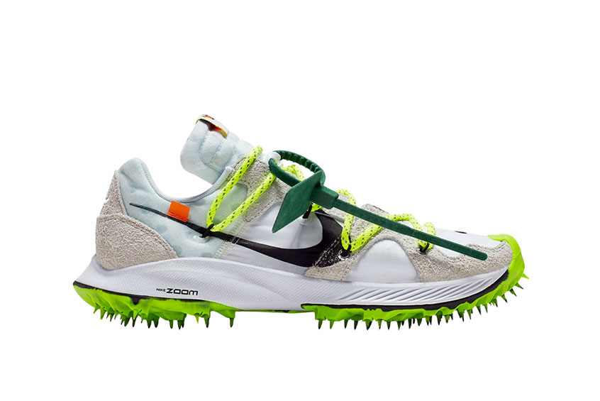 really comfortable popular stores on wholesale Off-White x Nike Zoom Terra Kiger 5 White : Release date, Price & Info