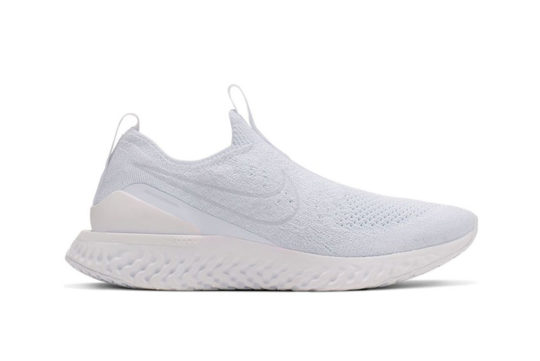 Nike Epic React Phantom Flyknit White bv0417-100