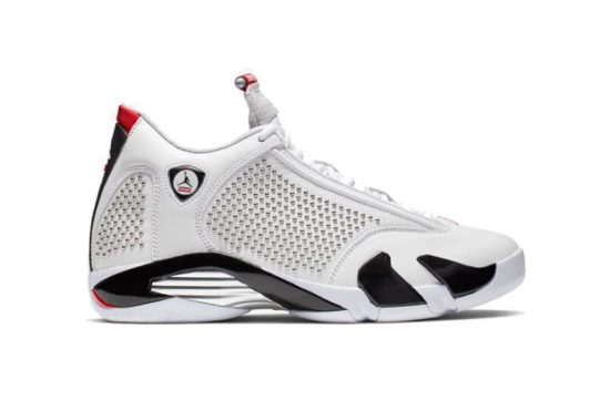 "Air Jordan 14 ""Supreme"" White bv7630-106"