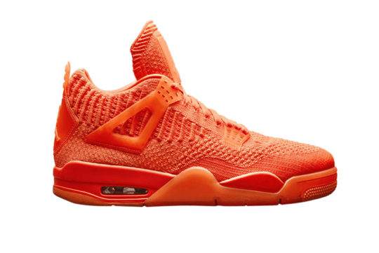 Jordan 4 Flyknit Orange aq3559-800