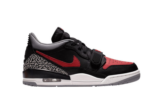 Jordan Legacy 312 Low Black Red cd7069-006