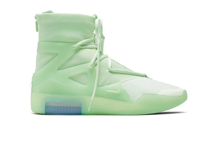 """Nike Air Fear of God 1 """"Frosted Spruce"""" ar4237-300"""