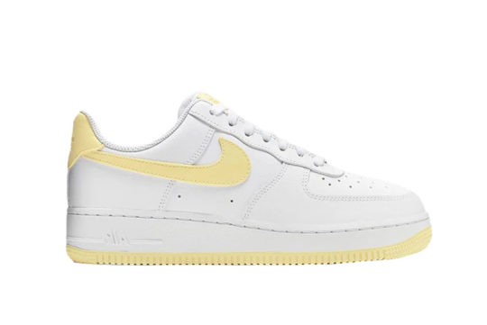 Nike Air Force 1 07 Patent White Yellow ah0287-106