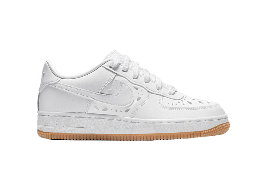 Nike Air Force 1 GS Floral White : Release date, Preis & Infos