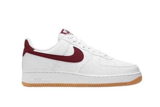 Nike Air Force 1 Low White Gum Blue Void ci0057-101