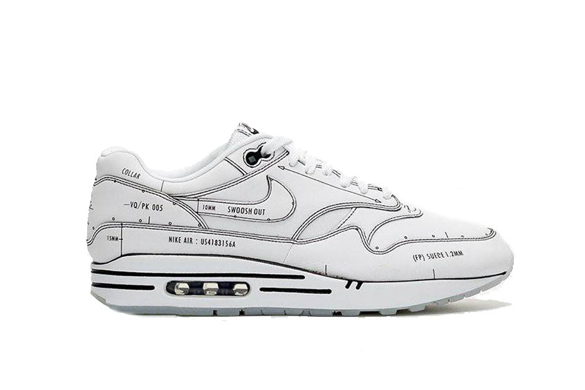 air max 1 schematic