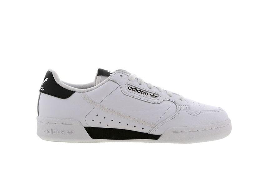 adidas Continental 80 White Black eg4550